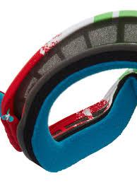 oakley goggles motocross oakley pinned race red green clear o frame 2 0 mx goggle oakley