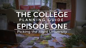college planning guide episode 1 youtube