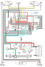 vw super beetle wiring harness color coded diagram volkswagen
