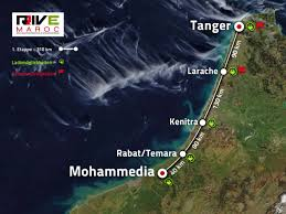 Tanger Map Ralley Rive Maroc 2017