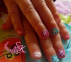 cute nail designs for 10 year olds