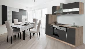 K Henzeile Preis Respekta Küche Küchenzeile Einbauküche Küchenblock 250 Cm Eiche