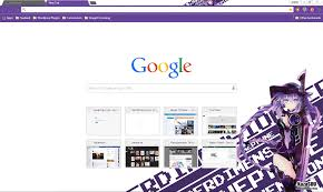 chrome themes cute google chrome theme neptune randomness thing