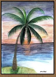 Palm Tree Bathroom Rugs by Sunset Palm Tree Art Floor Mat Palm Tree Art Tree Art And Palm