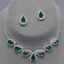 green crystal necklace set images 23 best shades of green from www glitzyglamour co uk images on jpg