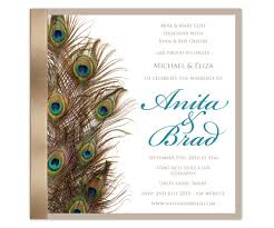 peacock wedding invitations peacock wedding invitations plumegiant