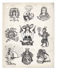certain tattoo designs have developed recognized coded meanings