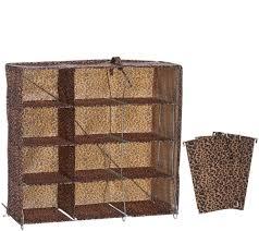 Honey Can Do 60 Double Door Storage Closet by Laundry Storage Baskets Hangers Organization U2014 Qvc Com