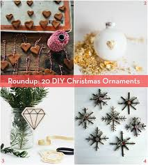 roundup 20 diy ornament projects to make this season curbly
