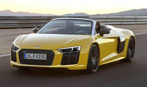 audi r8 features audi r8 spyder review price specs features consumption and