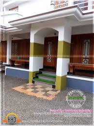 contemporary kerala mix house at malapuram kerala home design