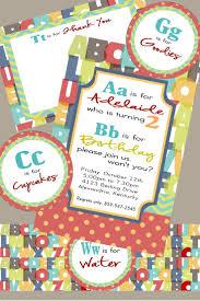 Invitation Cards For Birthday Party For Boys Best 25 Alphabet Birthday Parties Ideas On Pinterest Alphabet