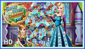 ᴴᴰ frozen perfect christmas tree princess elsa u0026 anna full