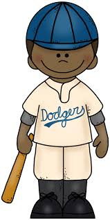 Robinson Clipart Jackie Robinson Coloring Page