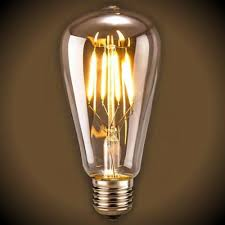 Edison Light Bulbs Led Filament Edison Clear Light Bulb Dimmable 2700k 6 Watt