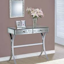 Mirror Console Table Coaster 950355 Two Drawer Mirror Console Table