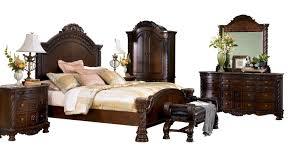 bedroom nightstand north shore poster bedroom set cane bedside