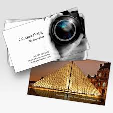 Make My Own Business Card Camera Lens Showcase Your Best Work On The Back Business Cards