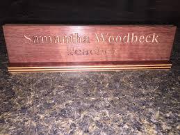 Name Plate Desk Engraved Desk Name Plates Hostgarcia Within Glass Desk Name Plate