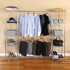 seville classics expandable closet organizer system 63 to 186