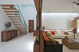 Interior Designs Of Homes by Timeless Contemporary House In India With Courtyard Zen Garden