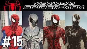 the amazing spider man episode 15 carnage u0026 anti venom mod