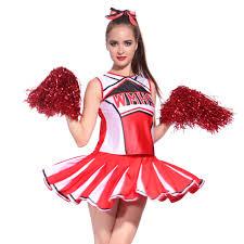 halloween costume cheerleader glee cheerleader women u0027s fancy dress ebay