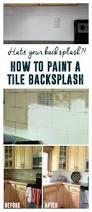 Easy Diy Backsplash Ideas by Best 20 Painting Tile Backsplash Ideas On Pinterest Painted