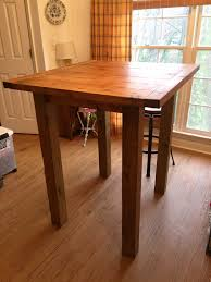 Kitchen Tables And More by Ana White Small Pub Table Diy Projects Diy Projects
