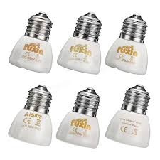 Reptile Heat Lamps Safety by Diameter 45mm White Infrared Ceramic Emitter Heat Light Lamp Bulb