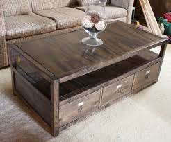 Free Woodworking Plans Coffee Tables by Ana White Rhyan Coffee Table Diy Projects