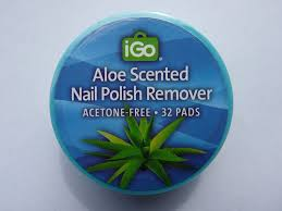 amazon com igo aloe scented nail polish remover 32 pads no