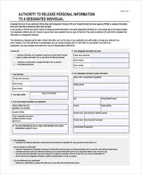 16 general release of information form templates