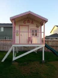 Backyard Play House Cool Backyard Playhouse Innovative Designs For Exterior Eclectic