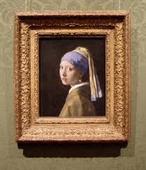 pearl earring painting girl with a pearl earring by johannes vermeer