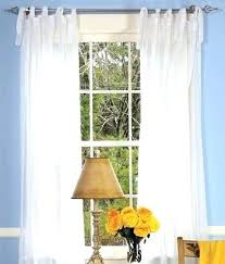 Sheer Curtains Tab Top Tie Top Sheer Curtains Left Weavers Cloth Tab Top Curtains Middle