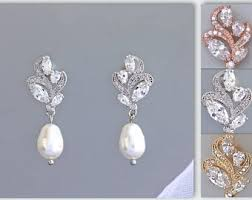 pearl drop earrings pearl drop earrings etsy