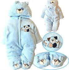 newborn baby clothes boys romper winter jumpsuit