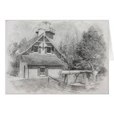 lighthouse drawing cards invitations greeting u0026 photo cards
