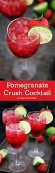 pomegranate crush cocktail recipe