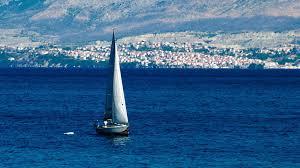 boats croatia sailboats seascapes mediterranean sea dalmatia