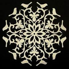 59 best paper snowflakes images on drawings