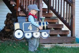 Train Halloween Costume Cortney Jon Ophoff U0027s Family Live Learn Making