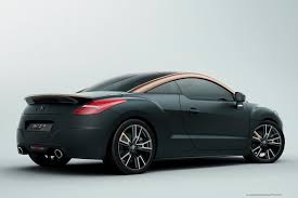 peugeot sports models peugeot rcz history of model photo gallery and list of modifications
