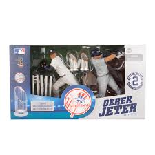 derek jeter new york yankees commemorative mlb 2 pack mcfarlane