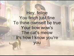 cat u0027s meow barbie princess pauper lyrics