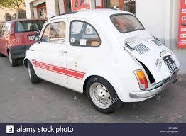 fiat 500 classic small car cars italy italian small peoples stock