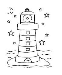light coloring page funycoloring