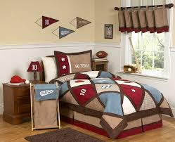 Twin Plaid Bedding by All Star Elegant Kids Sports Bedding For Boys Twin Comforter Set