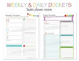 printable homeschool lesson plan template the polka dot posie new teacher homeschool planners